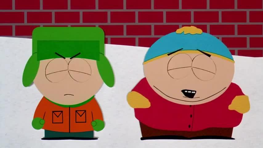 Don't say it, Cartman!