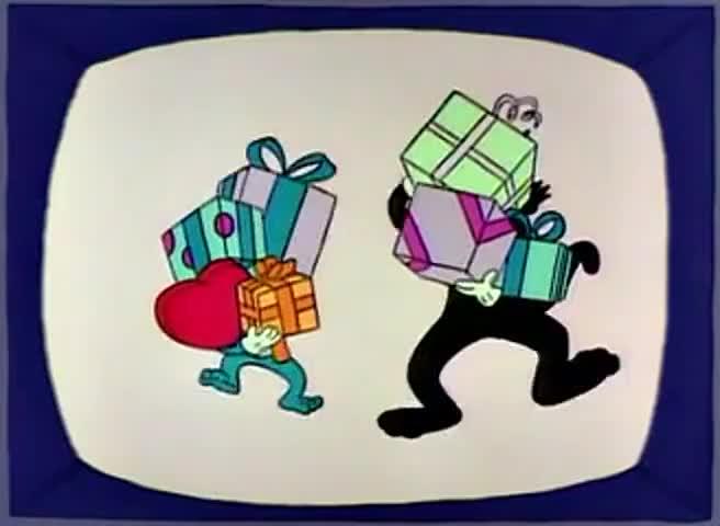 Love love love, share share share The Itchy & Scratchy Show!