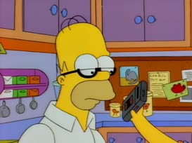 - Hey, this is Homer Simpson saying- - [Screams]