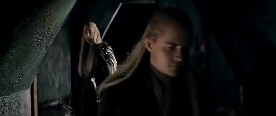 Legolas, your mother loved you,
