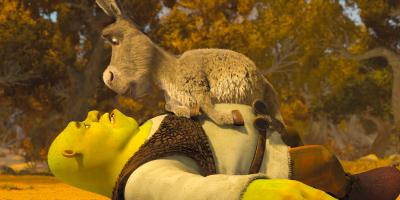 Quiz promotion for Shrek
